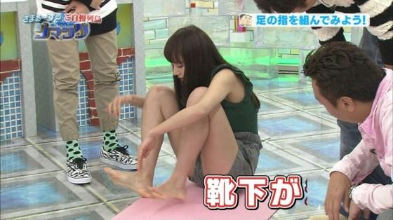【足裏キャプ画像】この女性タレントの足の裏だったら舐めてもいい??ww 11