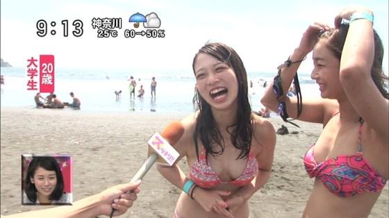 【水着キャプ画像】この夏もそろそろ終わるし水着美女も見納めかな?この夏テレビに映った水着美女達w