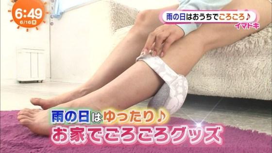 【太ももキャプ画像】私の綺麗な脚をもっと撮ってと言わんばかりに美脚を見せつけるタレント達ww 14