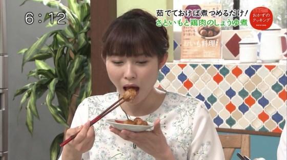 【擬似フェラキャプ画像】この食べ方と言い表情と言い完全に狙ってますよね?ww 21