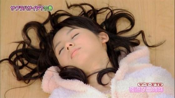 【寝顔キャプ画像】こんな可愛い寝顔した美女が隣にで寝てくれてたら癒されるだろうなぁw 24