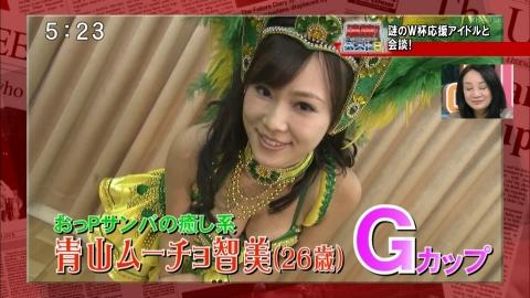 【放送事故画像】テレビでオッパイぷら~んwww 01