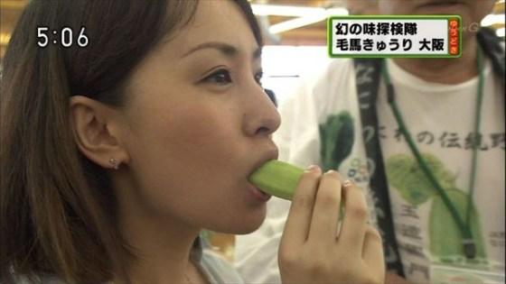 【放送事故画像】食レポのつもりなんでしょうけどその食べ方、食べ物がチンコに見えてしょうがないww 04