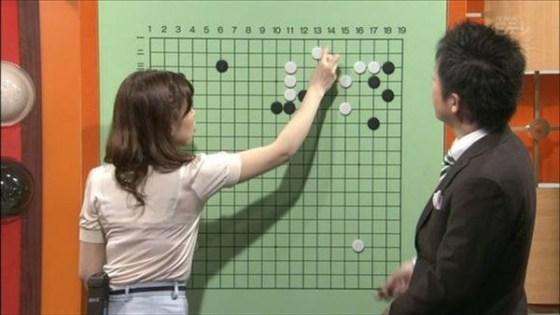 【放送事故画像】テレビでうっすら下着透けさして見せてる女達www 13