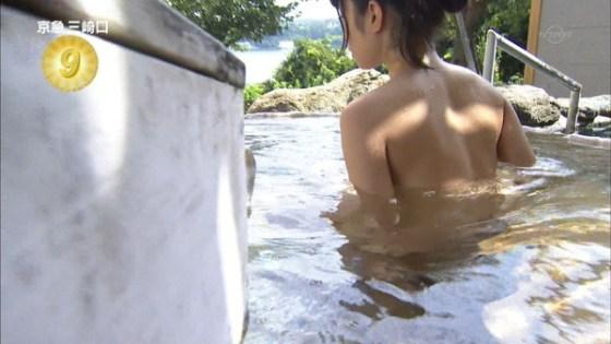 【放送事故画像】大きなオッパイと綺麗なお肌!入浴シーン最高www 18