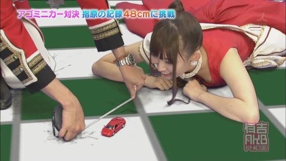 【放送事故画像】素人もアイドルもオッパイでかけりゃテレビに映れるってか?www 20