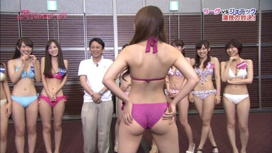 【放送事故画像】思わず撫で回したくなるような尻がテレビに映ってるんだがwww 11