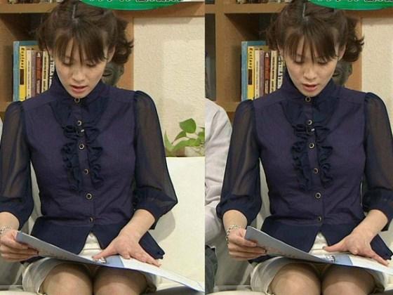 【放送事故画像】女子アナのパンチラや胸ちら総集編wエロすぎですwww 08