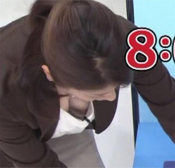 【放送事故画像】女子アナのパンチラや胸ちら総集編wエロすぎですwww 16