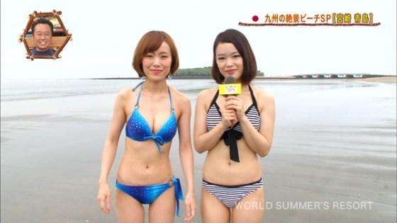 【放送事故画像】夏の思い出といえばやっぱり水着美女達?ww 13