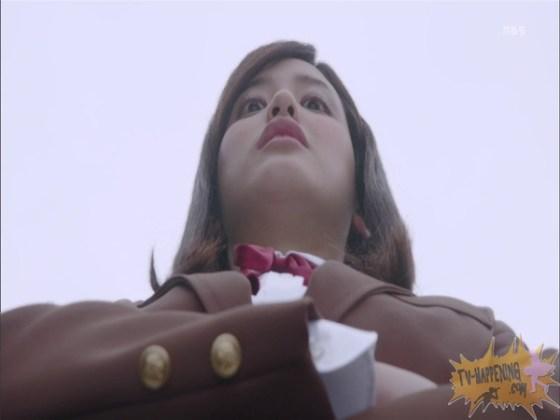 【お宝エロ画像】監獄学園第3話!脱衣シーンで女の下着姿映りまくりww 23