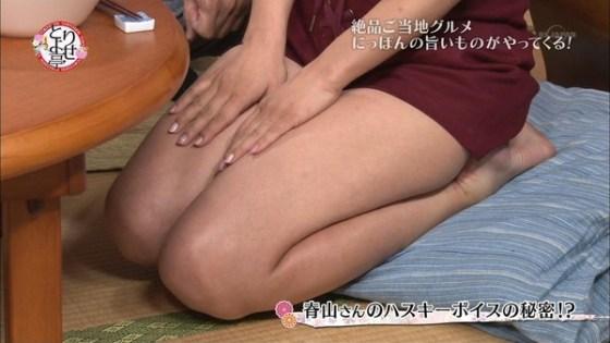 【放送事故画像】パンストの脚もいいけど、俺はやっぱり生足が好きww 18