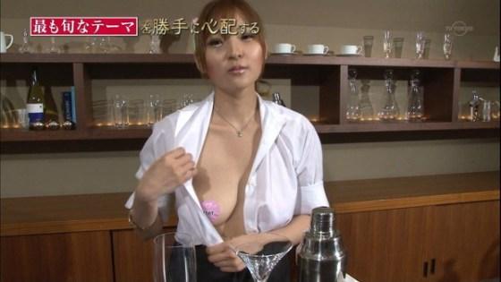 【放送事故画像】こんなオッパイ丸出しの女なんかテレビに映したらあか~んwww 11