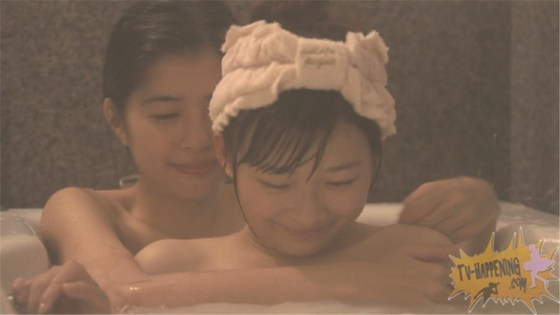 【お宝エロ画像】レズ物語のドラマ、トランジットガールズ!女同士でお風呂入ってイチャラブwww 17