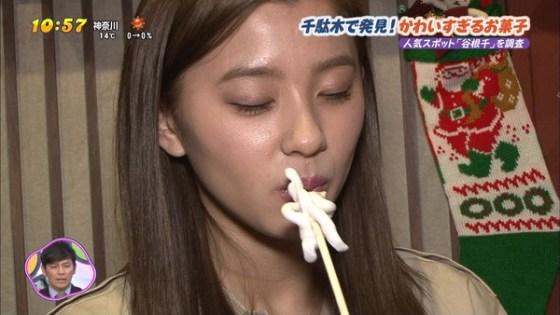 【疑似フェラ画像】食べ方で分かる!フェラが好きそうな女達のTVキャプ画像ww 09