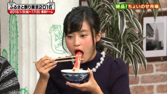 【疑似フェラ画像】食べ方で分かる!フェラが好きそうな女達のTVキャプ画像ww 15