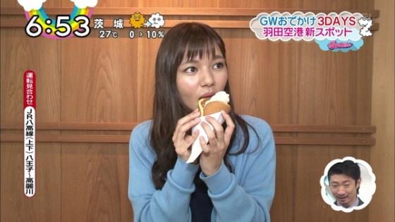 【疑似フェラ画像】テレビに映った舌出したり吸ったり食べてる時の顔がエロい女達www 12