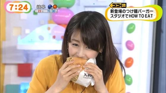 【疑似フェラ画像】テレビに映った舌出したり吸ったり食べてる時の顔がエロい女達www 15