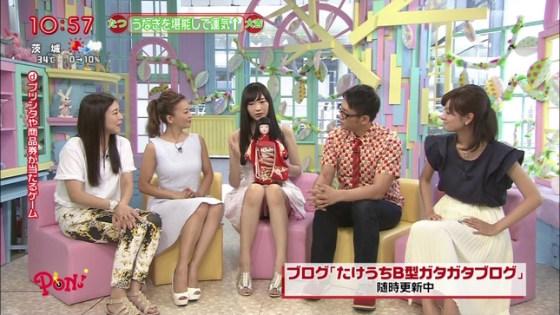 【放送事故画像】テレビでパンツ見えてようが別に平気な女達www 23