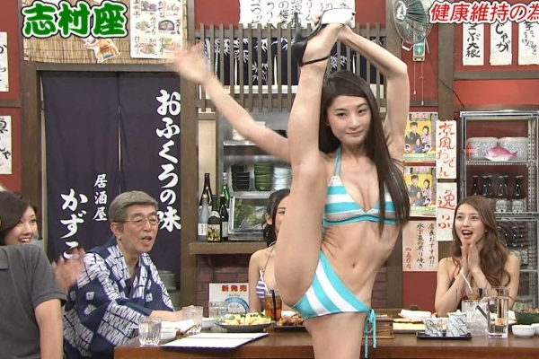 【放送事故画像】いつでも準備OKよ!テレビなのに大股開いて誘惑する女達ww 05