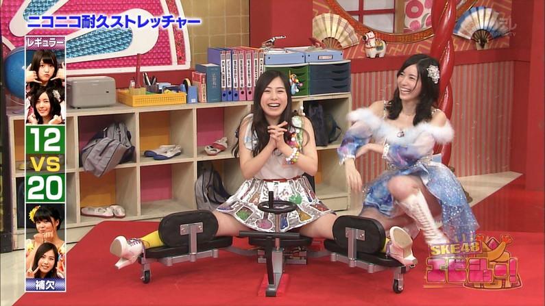 【放送事故画像】いつでも準備OKよ!テレビなのに大股開いて誘惑する女達ww 11