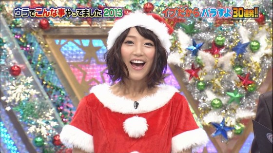 【放送事故画像】メリークリスマス!って事でサンタコスした女達のプレゼントだーwww 02
