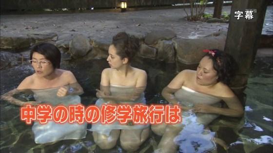 【放送事故画像】こんな寒い日には可愛い女の子と混浴でもして身も心も温まりたいwww 12