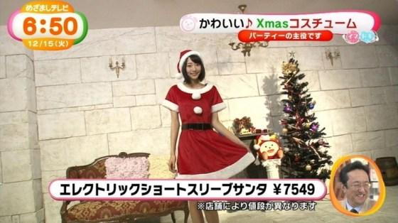 【放送事故画像】プレゼントは、わ、た、し♡女子アナやアイドル達のサンタコス画像www 18