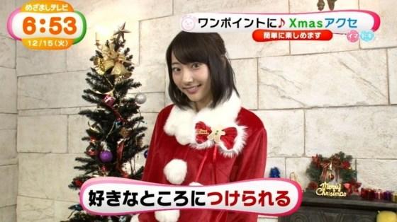【放送事故画像】プレゼントは、わ、た、し♡女子アナやアイドル達のサンタコス画像www 20