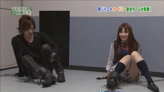 【放送事故画像】ちょっとだけよ~!ムチムチ太もも露出さして男を虜にする女性タレント達ww 10