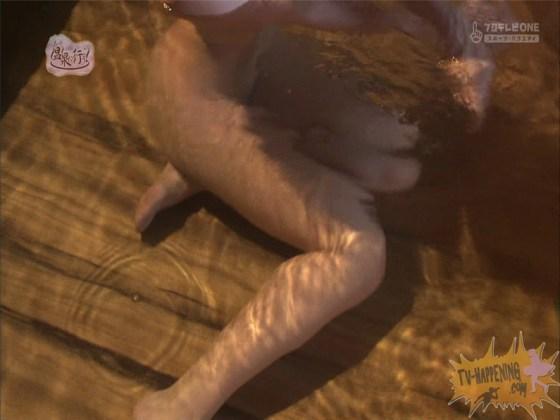 【お宝エロ画像】来た来た来た~!!温泉に行こうで完全に乳首映しやがった~wwww 57