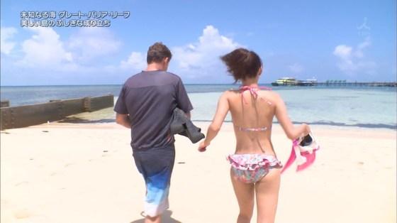 【放送事故画像】水着とかいう局部しか隠さないエロい姿でテレビに映る女達www 24
