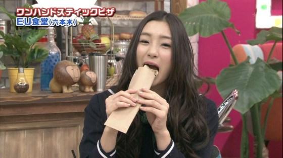 【擬似フェラ画像】食べ物を咥え込んでる女子アナ達の顔が卑猥で思わずオッキしたww 08