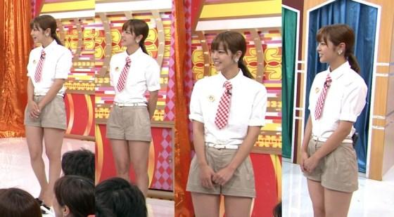 【放送事故画像】アイドルや女子アナの太ももが付け根の方まで見えてたまらんごwww 17