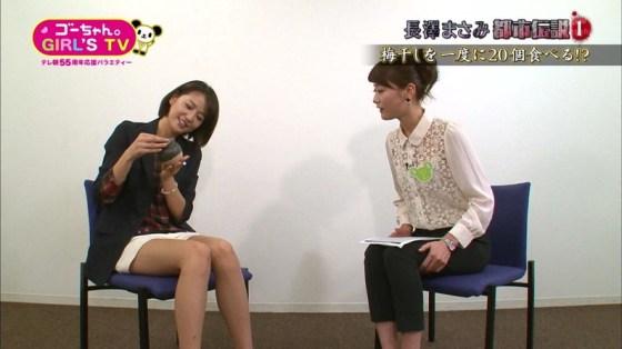 【放送事故画像】アイドルや女子アナの太ももが付け根の方まで見えてたまらんごwww 18