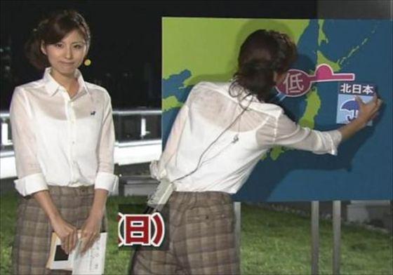 【放送事故画像】女子アナやタレント達がどんなブラジャー付けてるか気にならないかい?ww 13