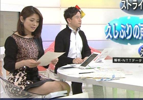 【放送事故画像】テレビに出てる女の子の脚ってなんでこんなにきれいでエロいんだ?w 21