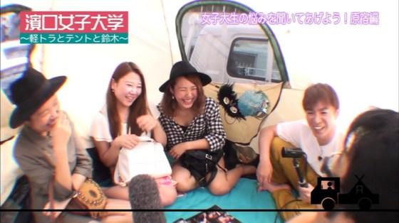 【放送事故画像】エロい太もも見せつけて視聴者の視線を釘付けにするタレント達! 18