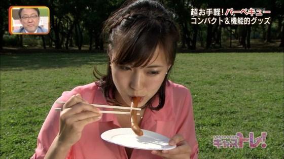 【擬似フェラ画像】エロい食べ方で視聴者を魅了するタレント達!この表情にも注目www 04