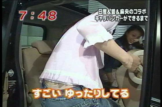 【放送事故画像】み、見えてる~!?タレント達の際どいパンチラに注目www 22