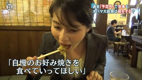 【擬似フェラ画像】芸能人のフェラ顔が拝める食レポがエロすぎてたまらんww 19