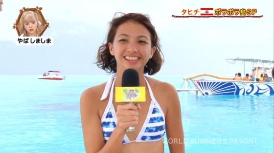 【水着キャプ画像】アイドル達のビキニからこぼれんばかりのオッパイがエロすぎてたまらんww 12