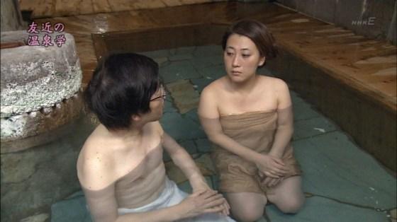 【入浴キャプ画像】もしかしたら美女の丸裸が見れるんじゃないかと大きな期待を抱く温泉レポww 09