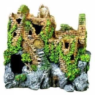 Castle Ruins Cave 110 ~ aquarium decor ornament fish tank decoration