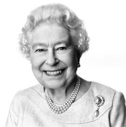 This portrait of Queen Elizabeth II by British photographer David Bailey has been released to mark her 88th birthday.
