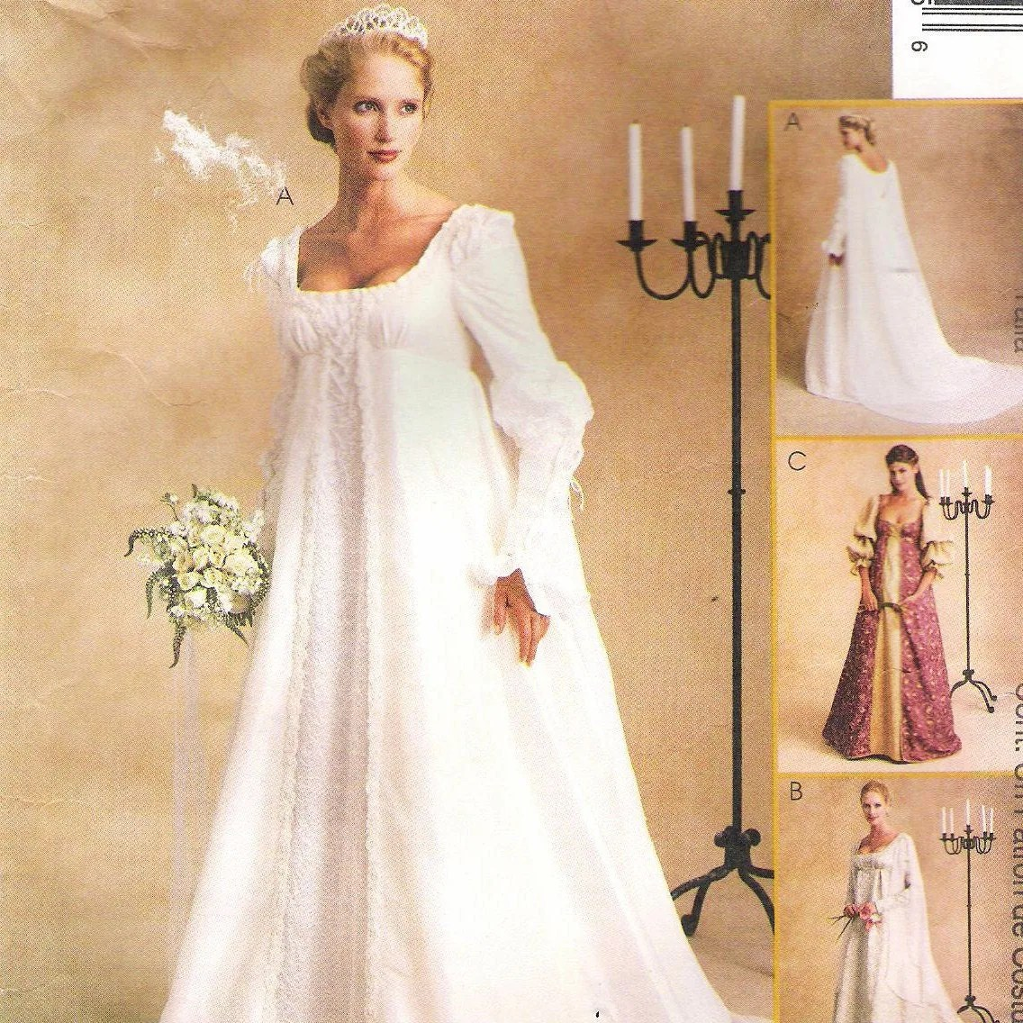 vintage wedding dress pattern medieval vintage wedding dress patterns zoom
