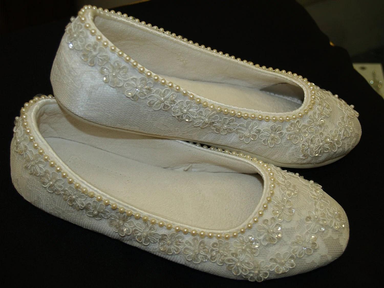 wedding ivory flats vegan shoes wedding slippers zoom