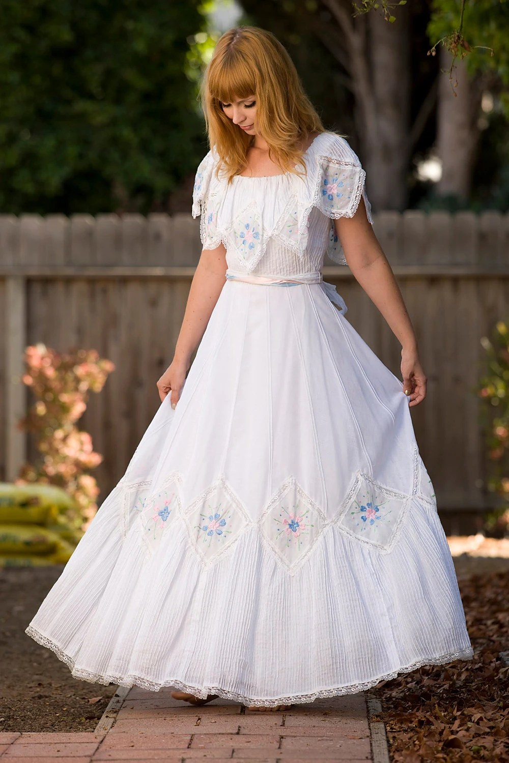s embroidered mexican wedding dress mexican wedding dress s Embroidered Mexican Wedding Dress zoom
