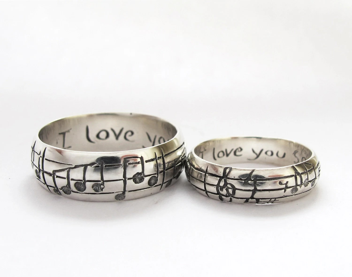 your song wedding rings any song one of unique womens wedding rings zoom