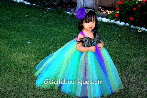 Medium Of Peacock Wedding Dress